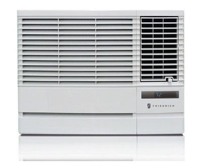 Friedrich Chill CP06G10B 6000 BTU Window Air Conditioner front view.
