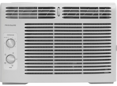 Frigidaire FFRA0511R1 5, 000 BTU 115V Window-Mounted Mini-Compact Air Conditioner.