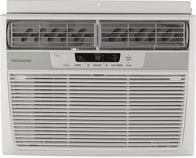Frigidaire FFRA1222R1 12000 BTU 115-volt Window-Mounted Compact Air Conditioner full view.